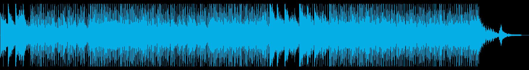 少しテンポ遅めの明るいコーポレートの再生済みの波形