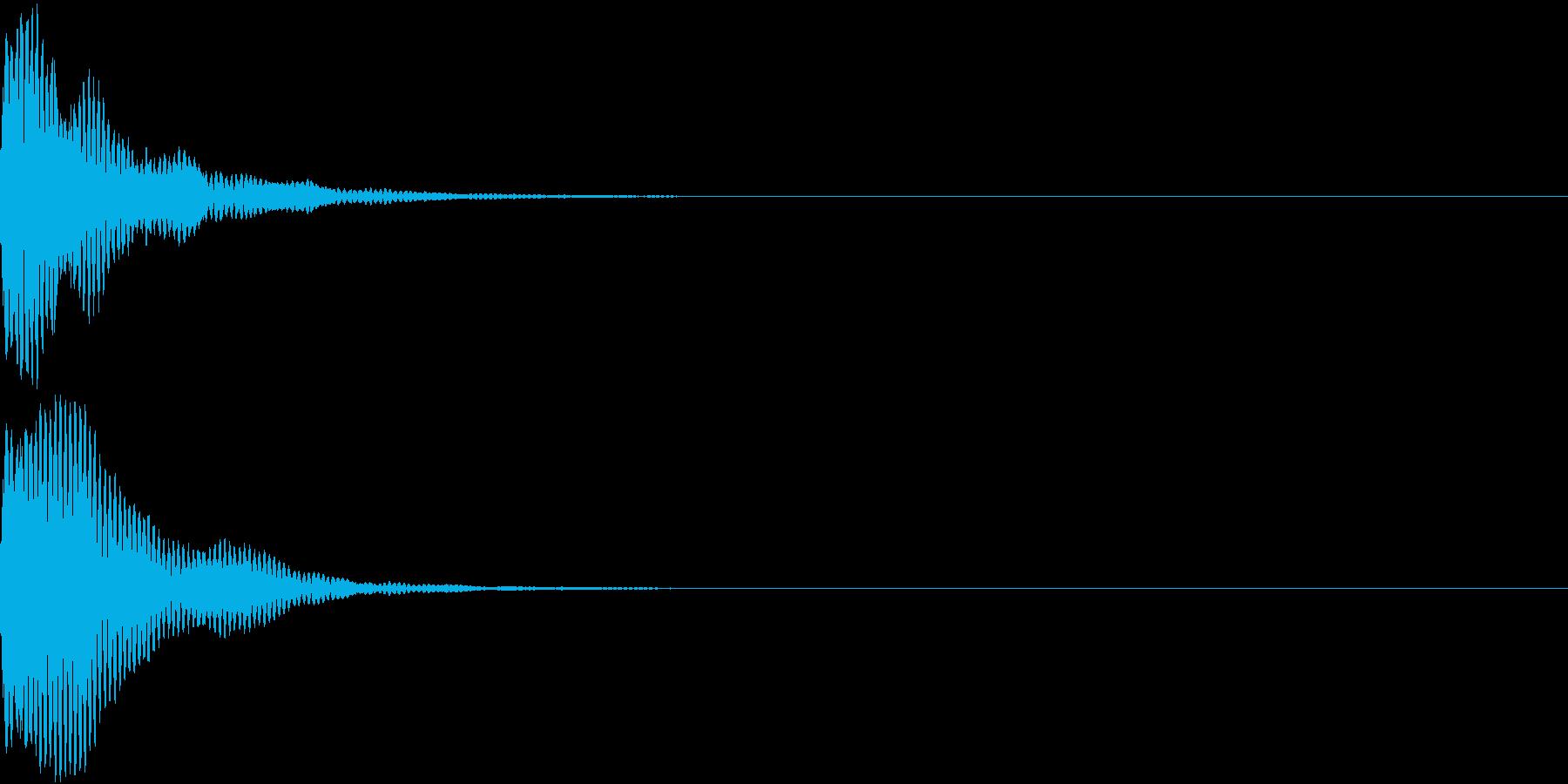 刀 キー 剣 リアル インパクト Mの再生済みの波形