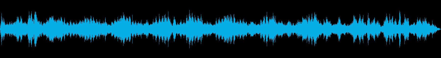 タービン複合体の回転運動の共振の進化の再生済みの波形