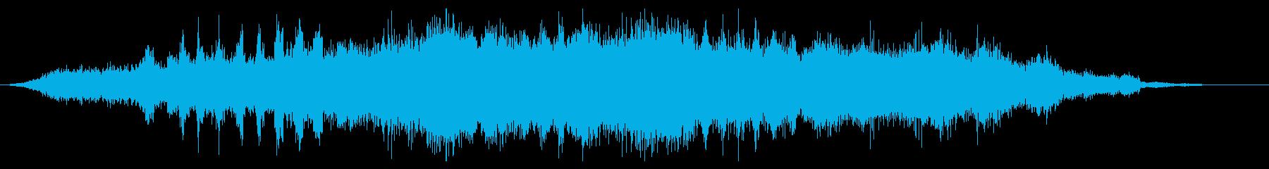 ホラー:ゴーストの顕現の再生済みの波形