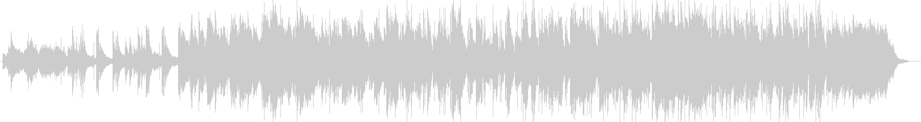 ジャズ風ストリングスシンセサイザー曲の未再生の波形