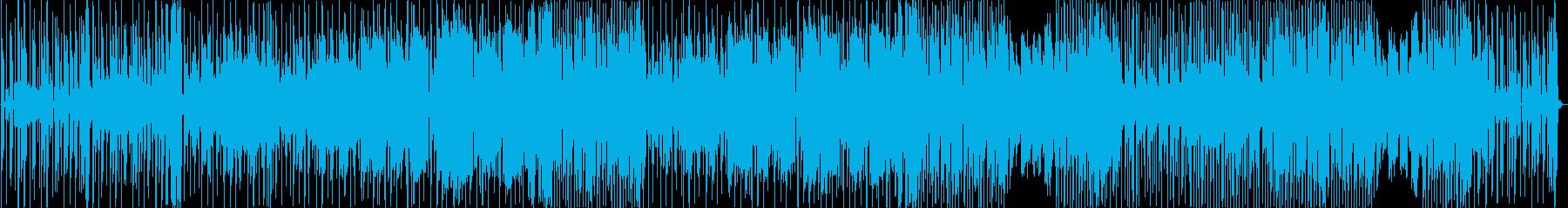 ヒップホップ風のリズムのR&Bバラード4の再生済みの波形