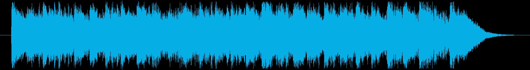 ジングルベル CMサイズの再生済みの波形