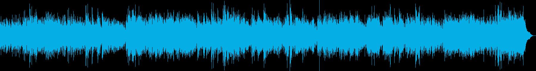 木漏れ日の中で風の音を聴く時のテーマの再生済みの波形