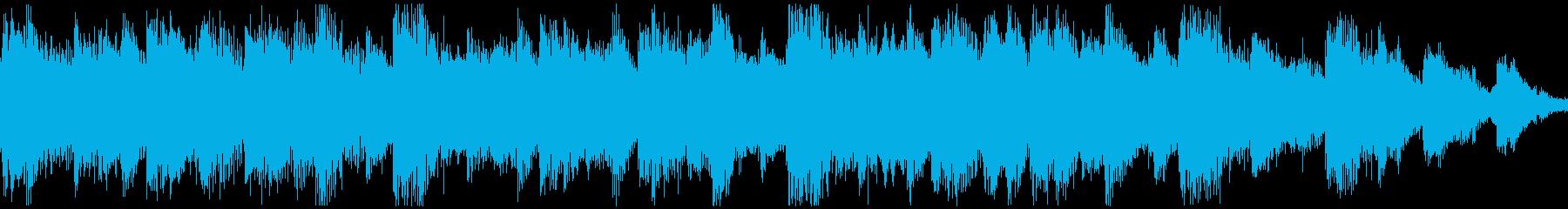 <ショートループ> ピアノ⑥+ビートBの再生済みの波形