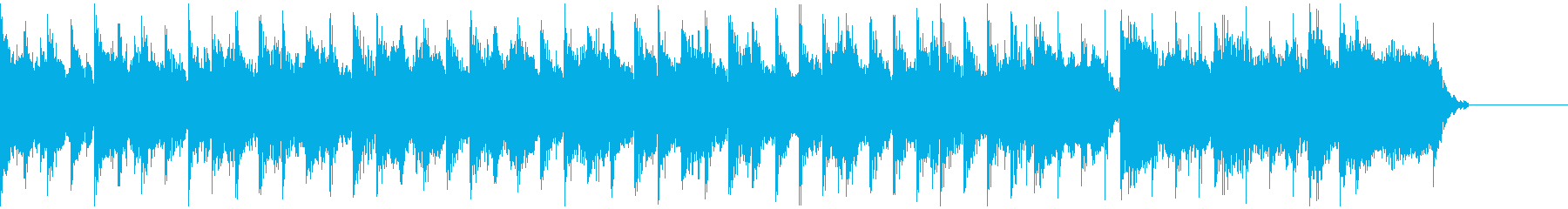 風変わりなアップビート感のあるプロ...の再生済みの波形