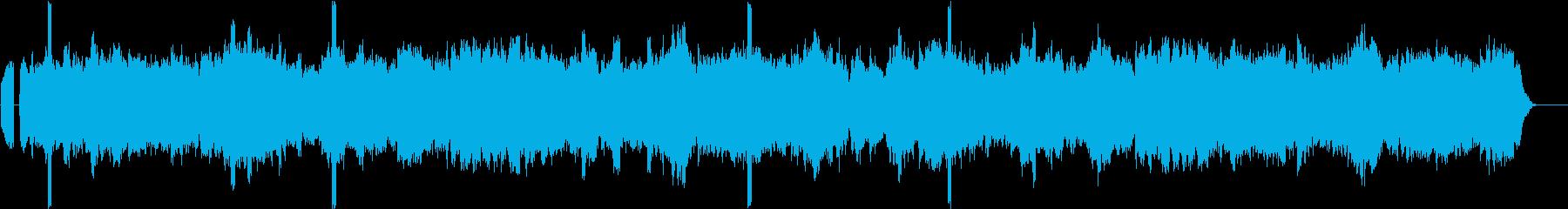 ドローン フリーズ03の再生済みの波形