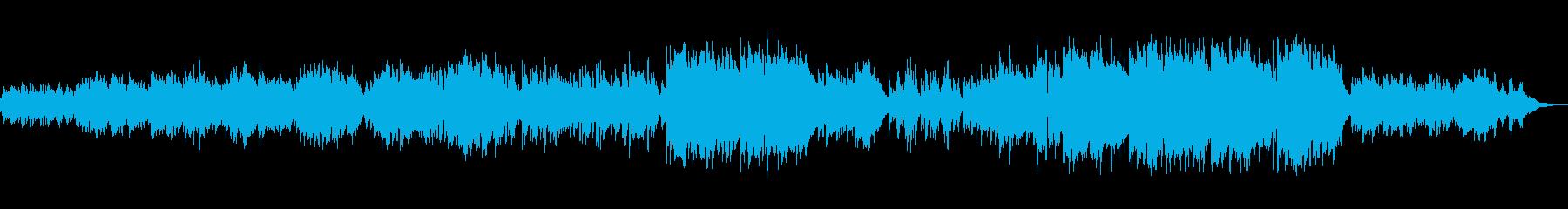 【生演奏フルート】とピアノによるアレンジの再生済みの波形