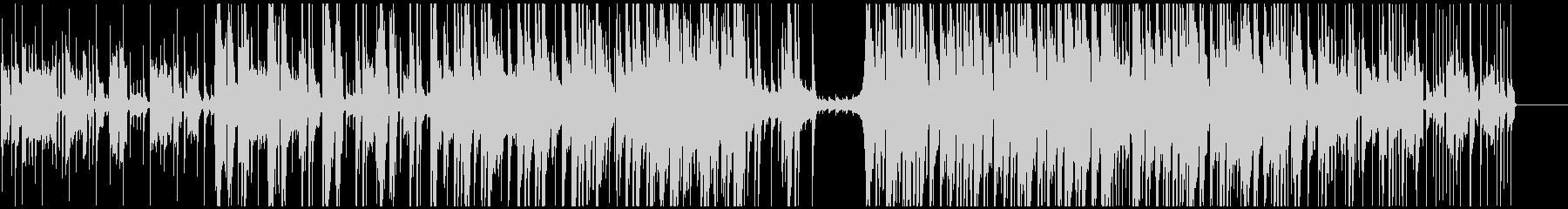 ラグジュアリーなジャズエレクトロニカの未再生の波形