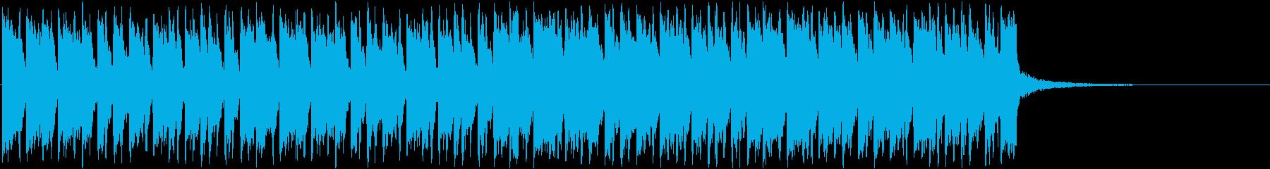 ギター/カラフル/シティーポップの再生済みの波形
