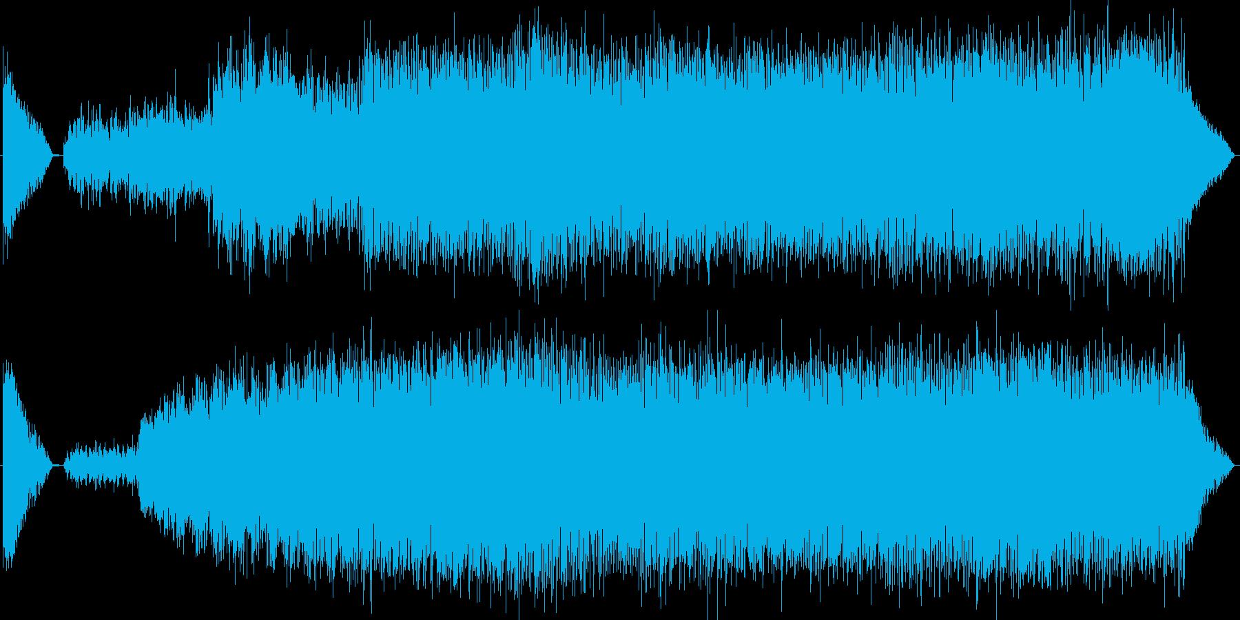 『危険地帯』EDMの再生済みの波形