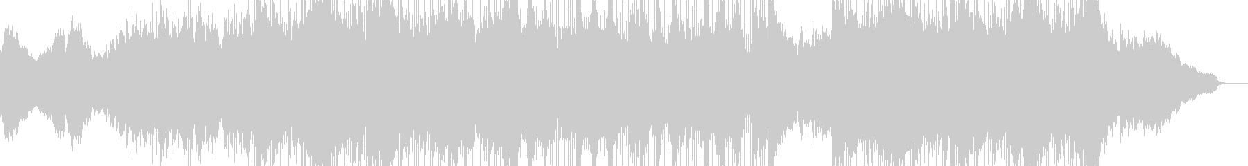悲しみ・懊悩・不安を演出するピアノBGMの未再生の波形