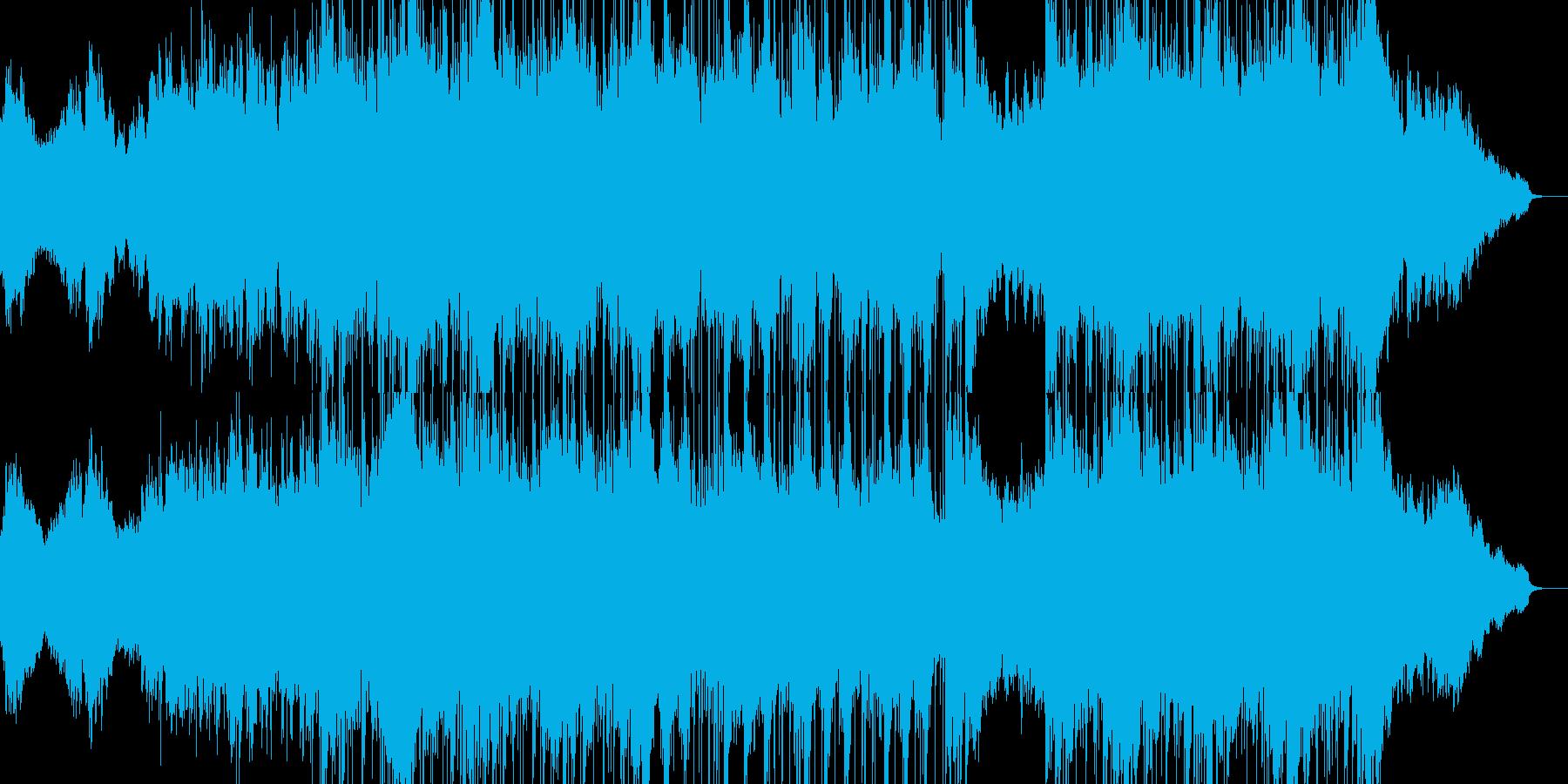 悲しみ・懊悩・不安を演出するピアノBGMの再生済みの波形