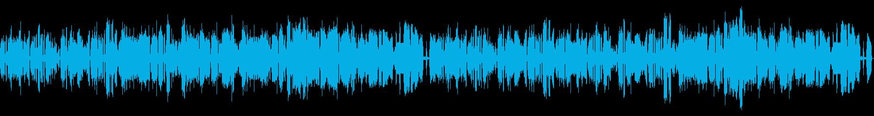 砂漠をイメージ、ヘンテコで緊張感のある曲の再生済みの波形