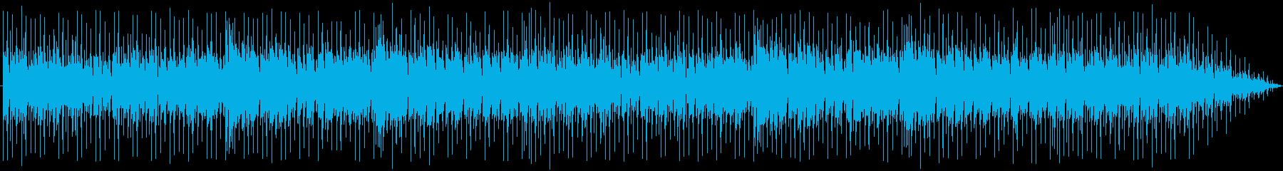 ピアノと溝。ループフルートシーケンス。の再生済みの波形