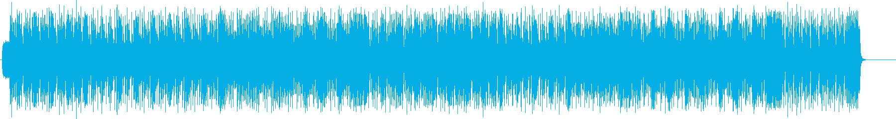 オープニングを飾るハデなロック/ファンクの再生済みの波形