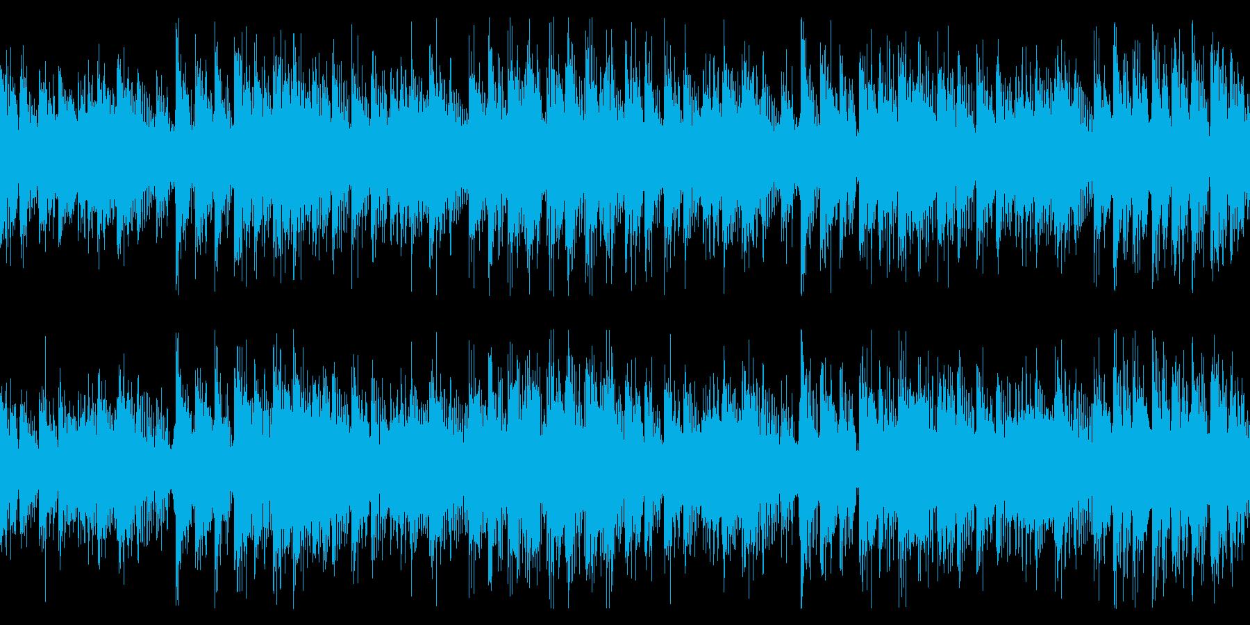 【ループ可】ユーロビート/戦闘/レースの再生済みの波形