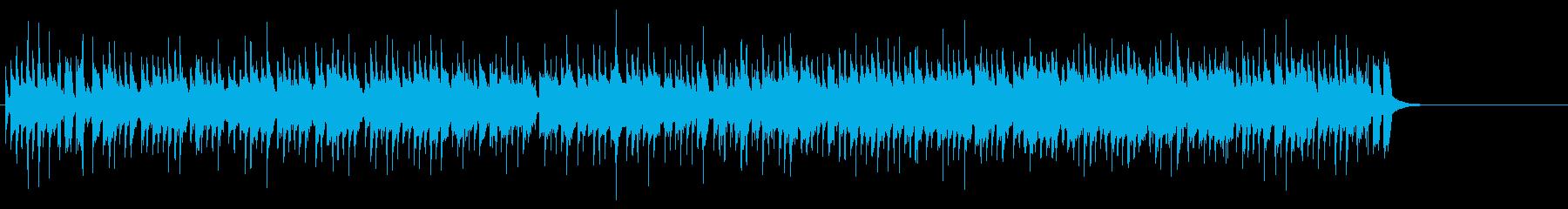 ファンキーで開放的なオープニング・テーマの再生済みの波形