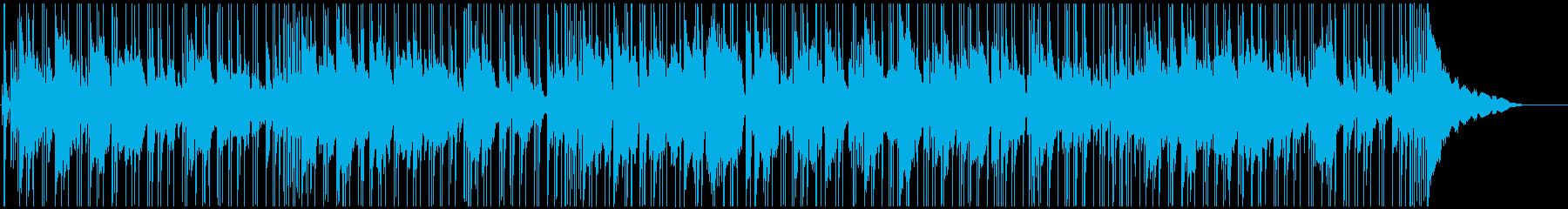 夜の街のシーンに合うBGMの再生済みの波形