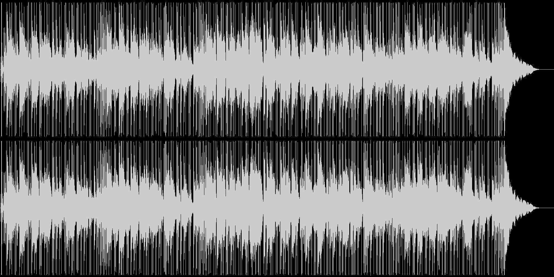 夜の街のシーンに合うBGMの未再生の波形