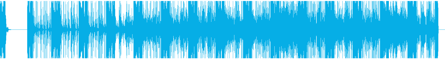楽しいブレイクビーツの再生済みの波形