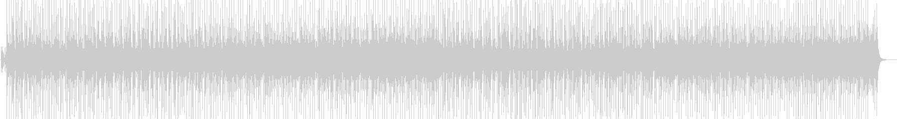 和調 登場 お囃子 転換の未再生の波形