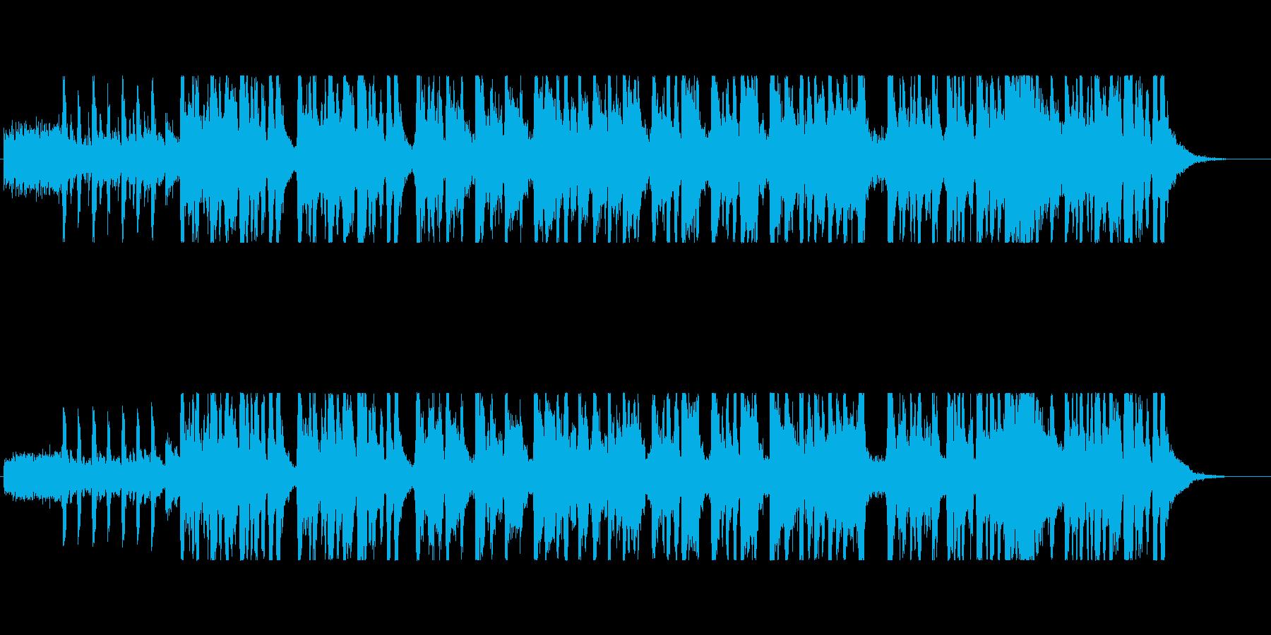 ジャガイモをテーマにした楽曲の再生済みの波形