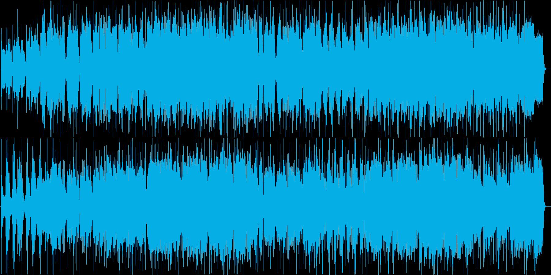 おしゃれで切ないフルートボサノヴァの再生済みの波形