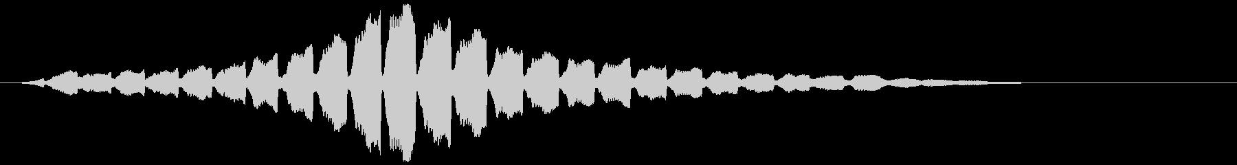 「サイレン」救急車/緊急_003の未再生の波形