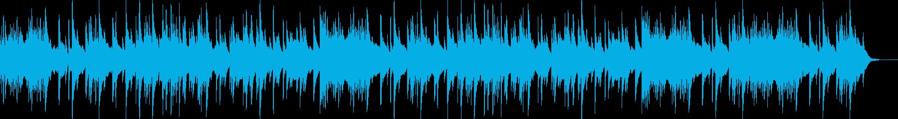ハープの音色が美しい朝にぴったりな曲の再生済みの波形