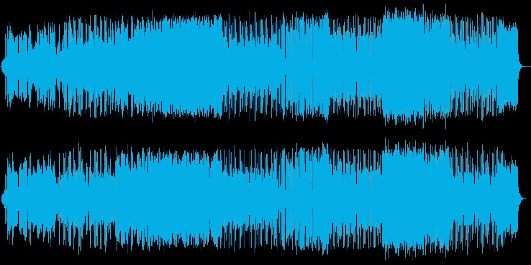 琴・篠笛の旋律が美しい和風のバラードの再生済みの波形