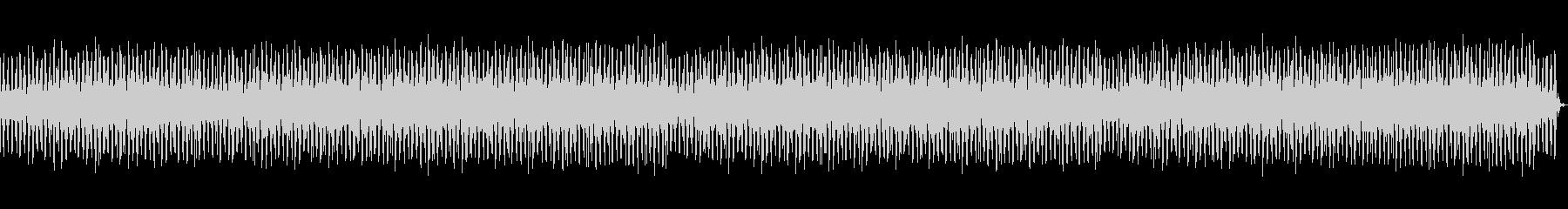 ジャングルっぽいゆったりしたレゲエの未再生の波形