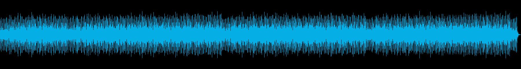 ジャングルっぽいゆったりしたレゲエの再生済みの波形