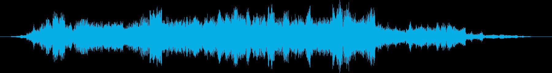 コンスタントトーンスイープエイリア...の再生済みの波形