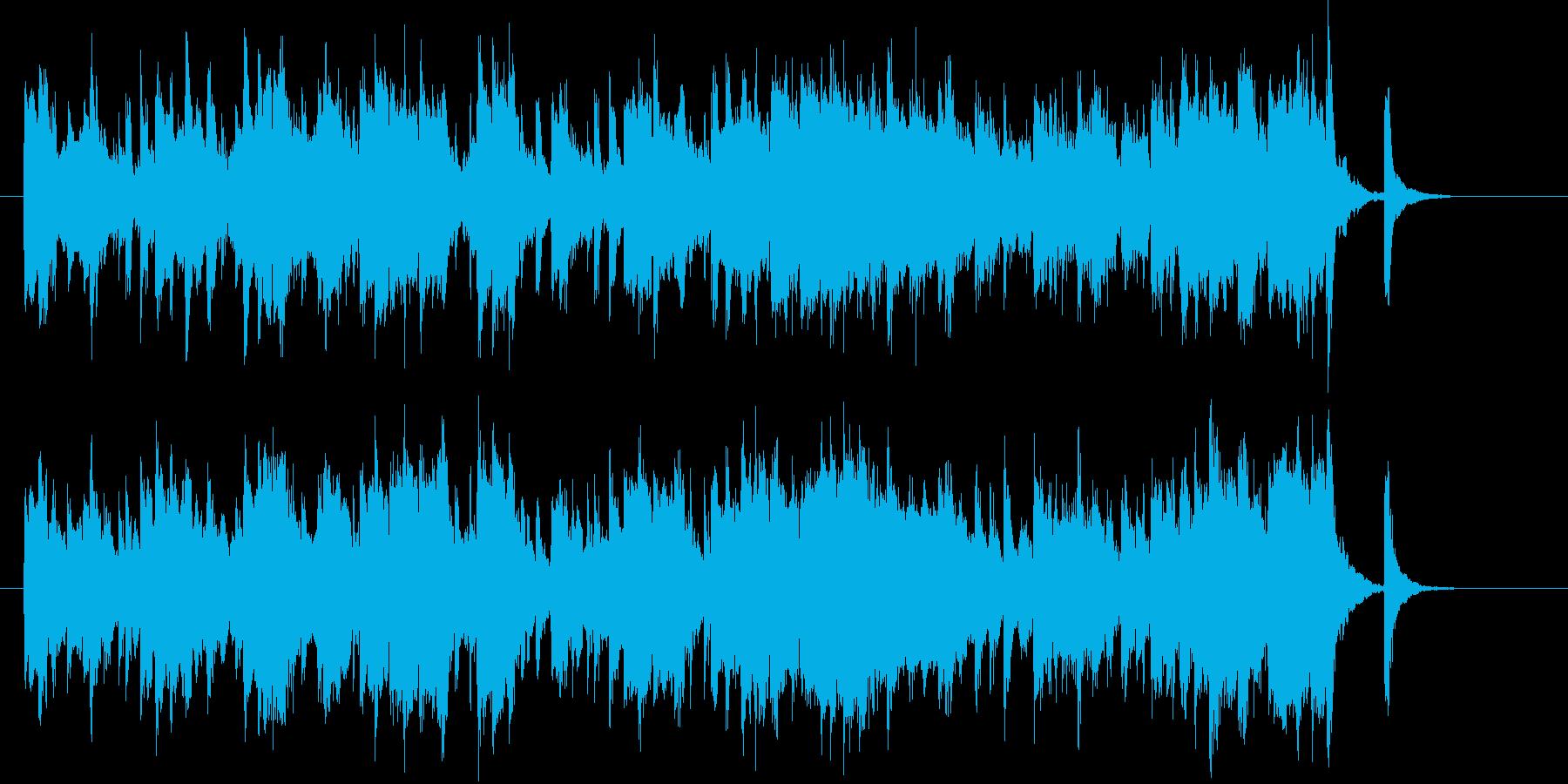 ゆったり感シンセサイザーポップの再生済みの波形