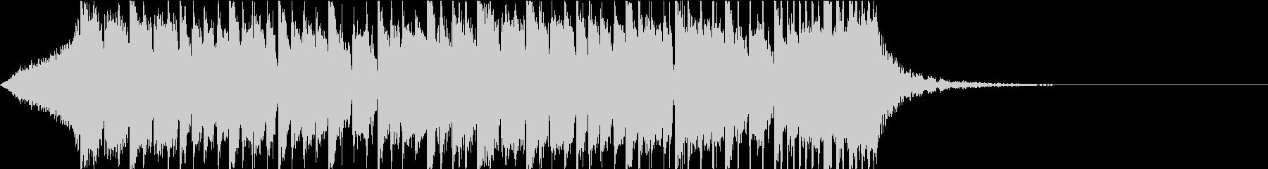 ダブステップ 重低音 ジングルの未再生の波形