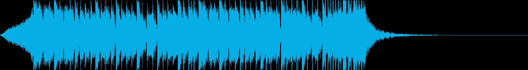 ダブステップ 重低音 ジングルの再生済みの波形