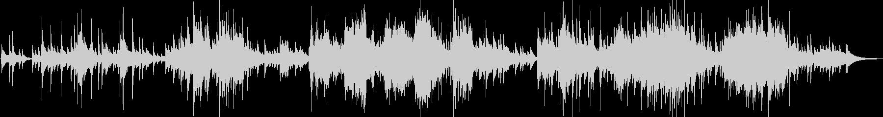 ディズニーの名曲をソロピアノアレンジの未再生の波形