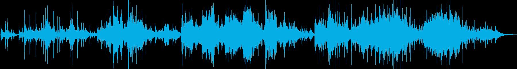ディズニーの名曲をソロピアノアレンジの再生済みの波形