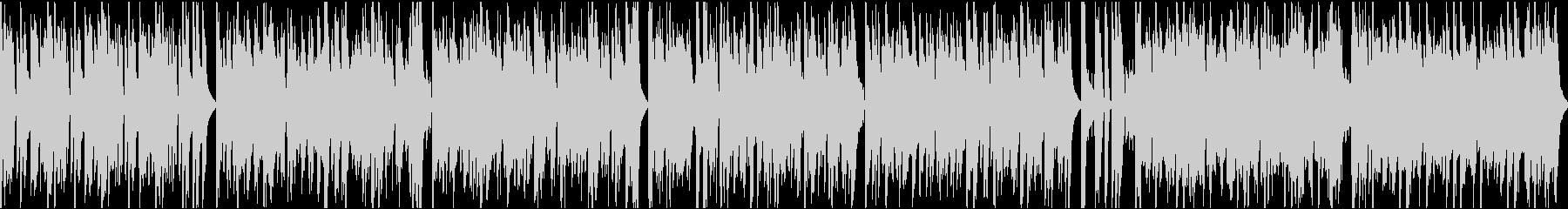 おしゃれイケイケ/ループ/イントロ9秒の未再生の波形