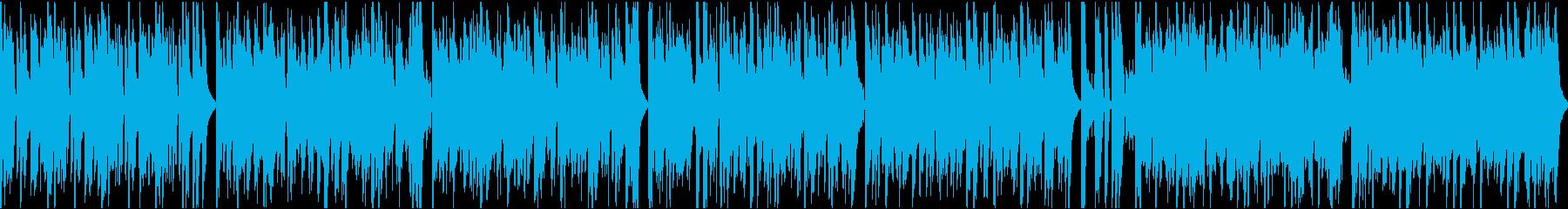 おしゃれイケイケ/ループ/イントロ9秒の再生済みの波形