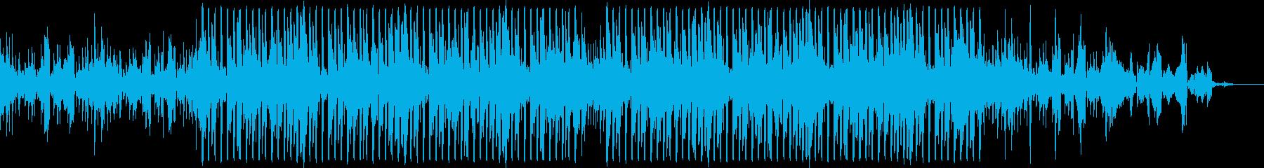 ワークアウトにあう自然を感じる曲の再生済みの波形