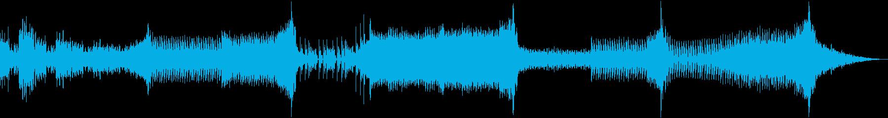 サクッと使える3min.BGM♪2の再生済みの波形