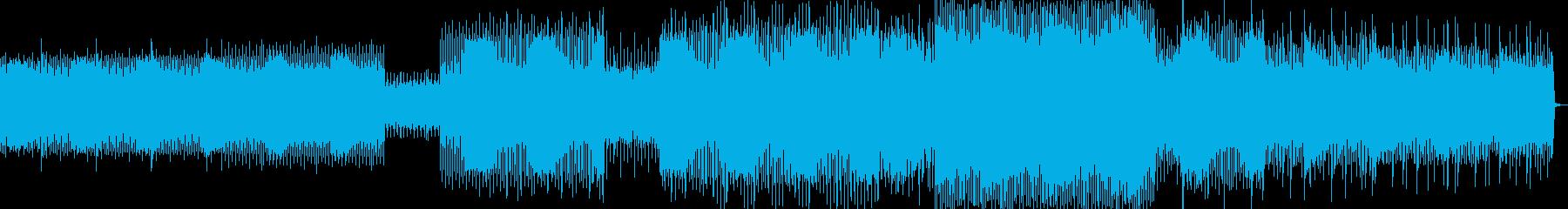 スピーチ、ファンク、Efx。の再生済みの波形