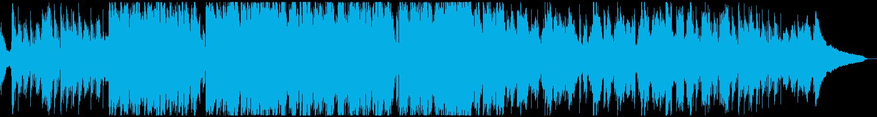 琴 日本 クール インバウンド BGMの再生済みの波形