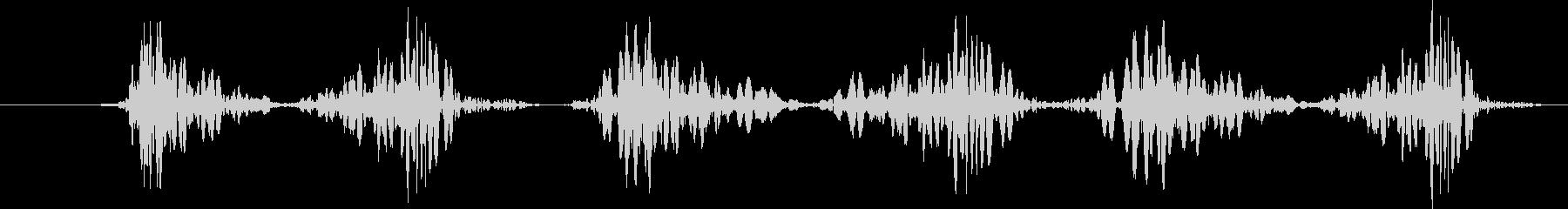 Djドラムスクラッチ、ショート、ス...の未再生の波形