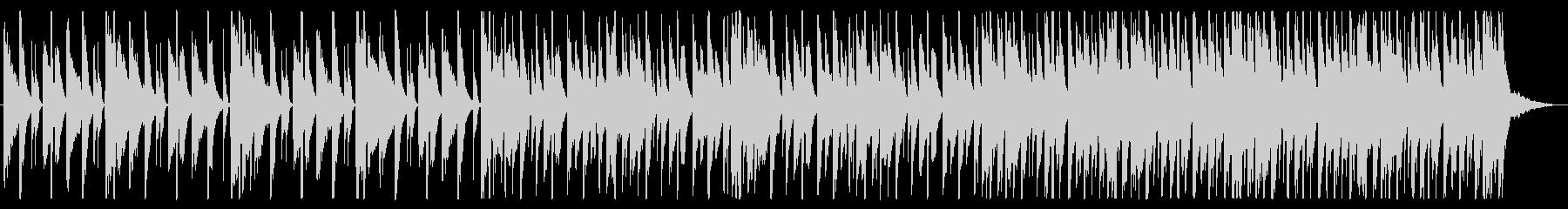 浮遊感/不思議/R&B_No490_2の未再生の波形