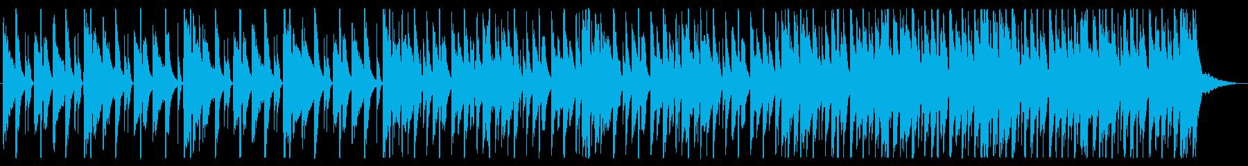 浮遊感/不思議/R&B_No490_2の再生済みの波形