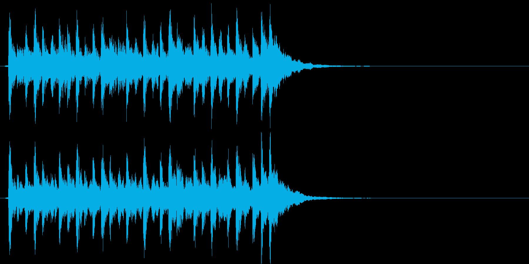 爽やかでキラキラしたポップBGMの再生済みの波形