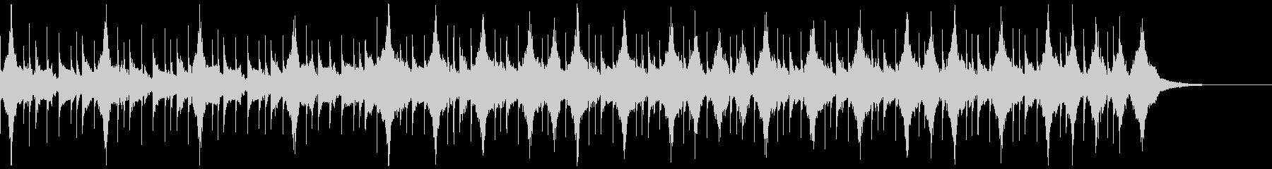 コーポレートテクスチャ―10の未再生の波形